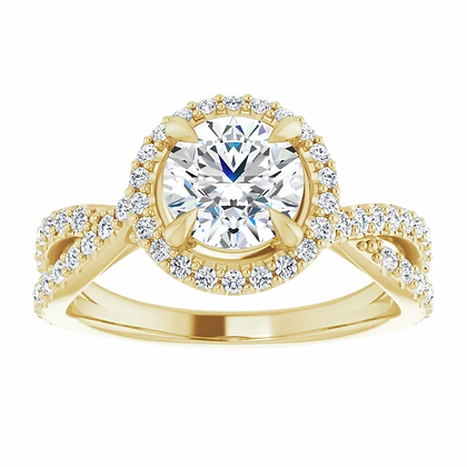 Dahlia Diamond Halo