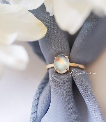 Leona Moonstone Ring