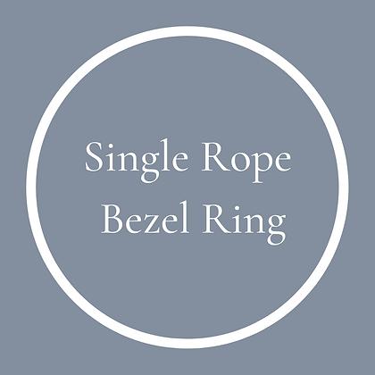 Single Round Rope Ring