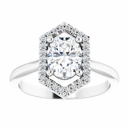 Rhea Diamond Halo