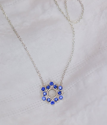 Floral Halo Necklace