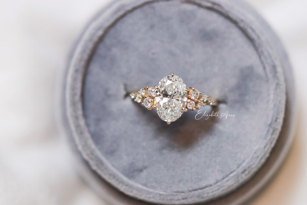 Amy Oval Engagement Ring