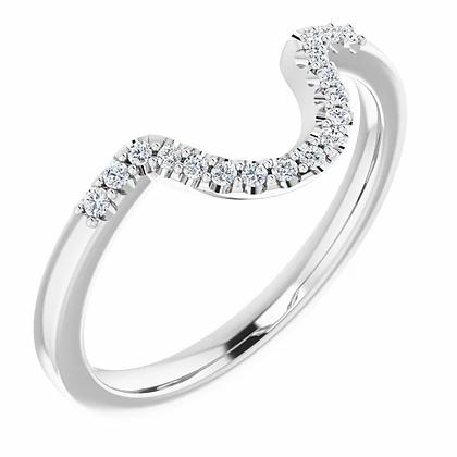 Selene Matching Diamond Band
