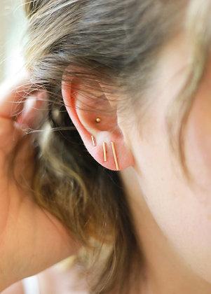 Bar Stud Earrings Set
