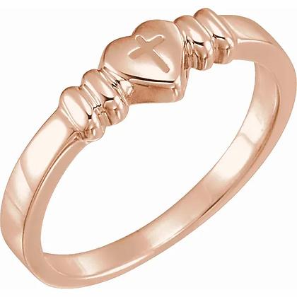 Cross Purity Ring