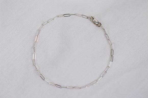 Sterling Staple Bracelet
