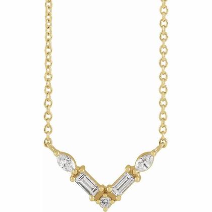 Danica Diamond Necklace