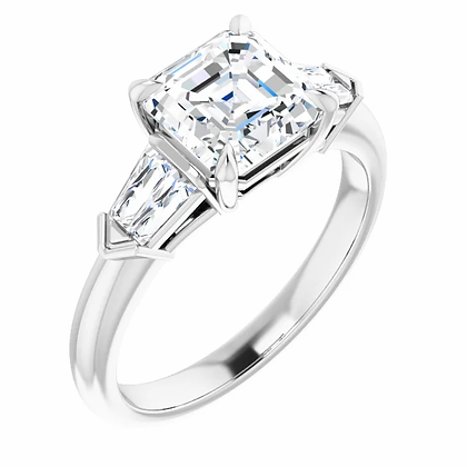 Octavia Diamond Engagement Ring