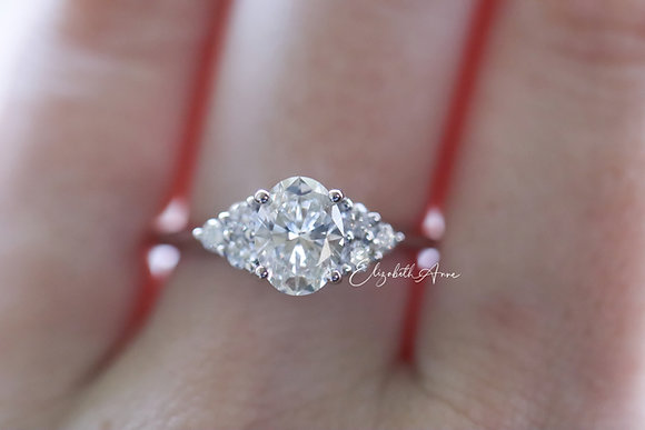 Jennifer Accented Engagement Ring