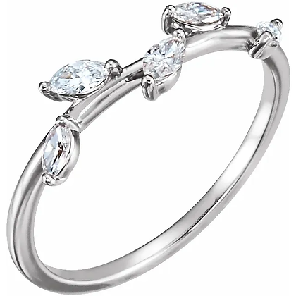 Cypress Diamond Ring