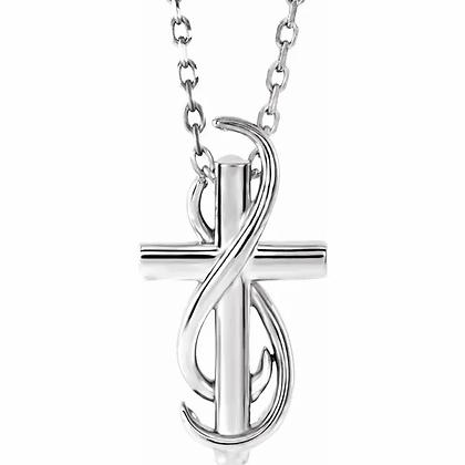 Faith Cross Pendant