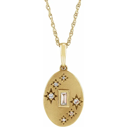 Zera Diamond Drop Necklace