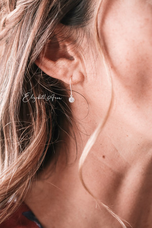 Lena Diamond Dangle Earrings