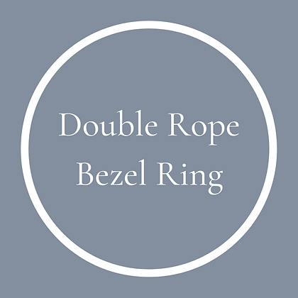 Double Round Rope Ring