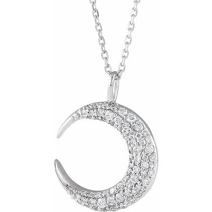 Celia Pavé Diamond Necklace