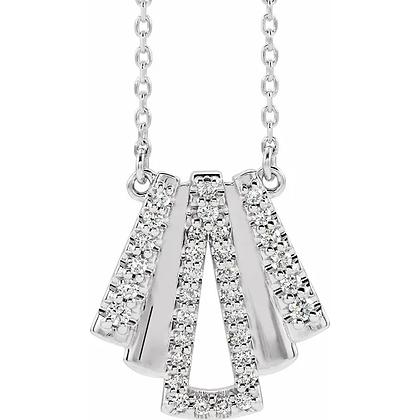 Melissa Diamond Necklace