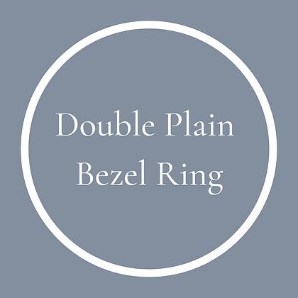 Double Plain Round Ring