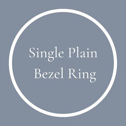 Single Round Plain Ring