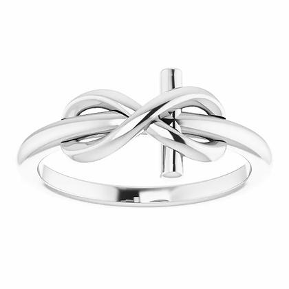 Infinity Cross Ring