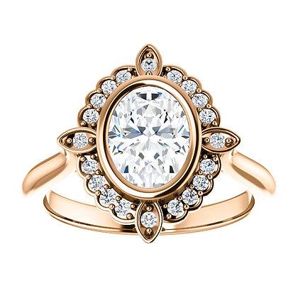 Athena Diamond Halo