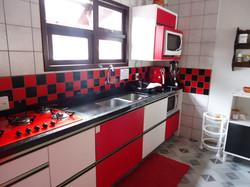 Cozinha compartilhada.