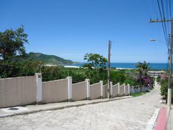 Rua do Hostel.