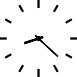 clock icon rebelles research