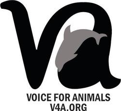 Voice for Animals logo