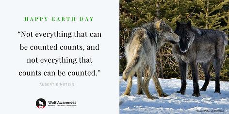 Wolf Awareness Meme - Happy Earth Day 2018