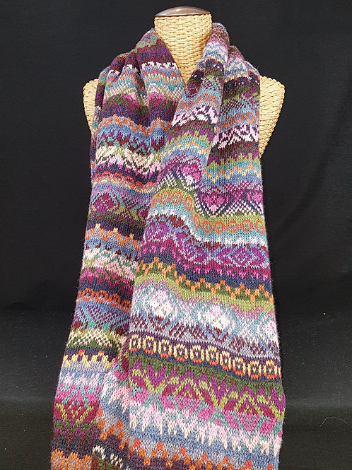 Happy Days - Fairisle Shawl