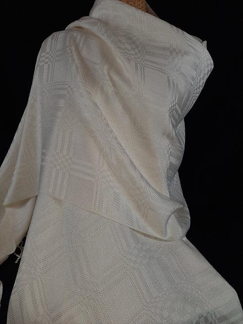 Large white shawl