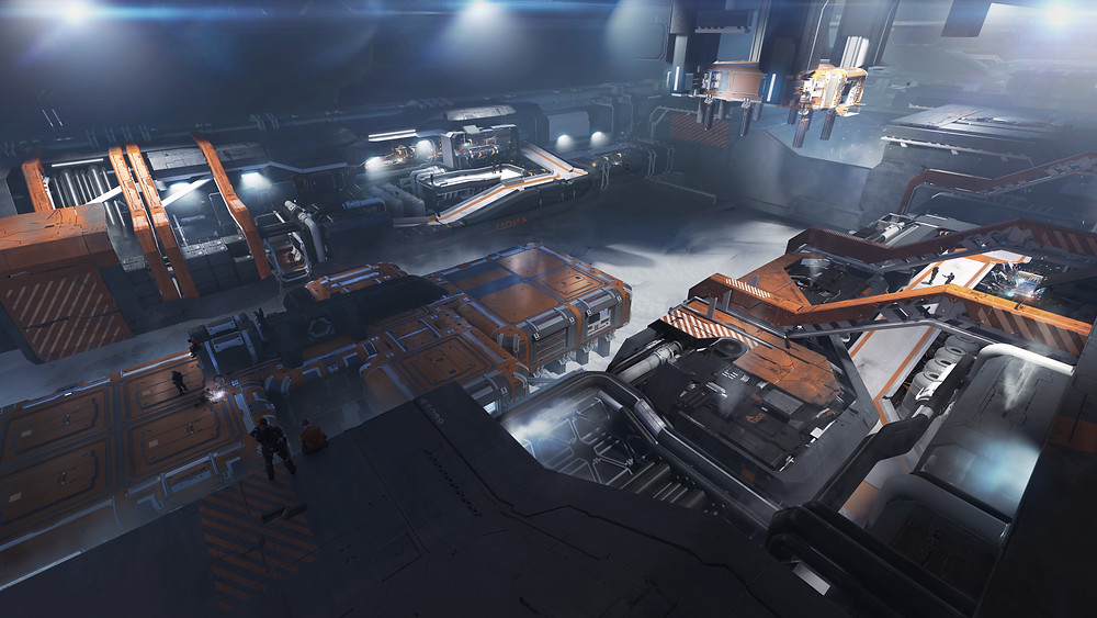 Star Citizen Pioneer outpost construction manufacturing plant
