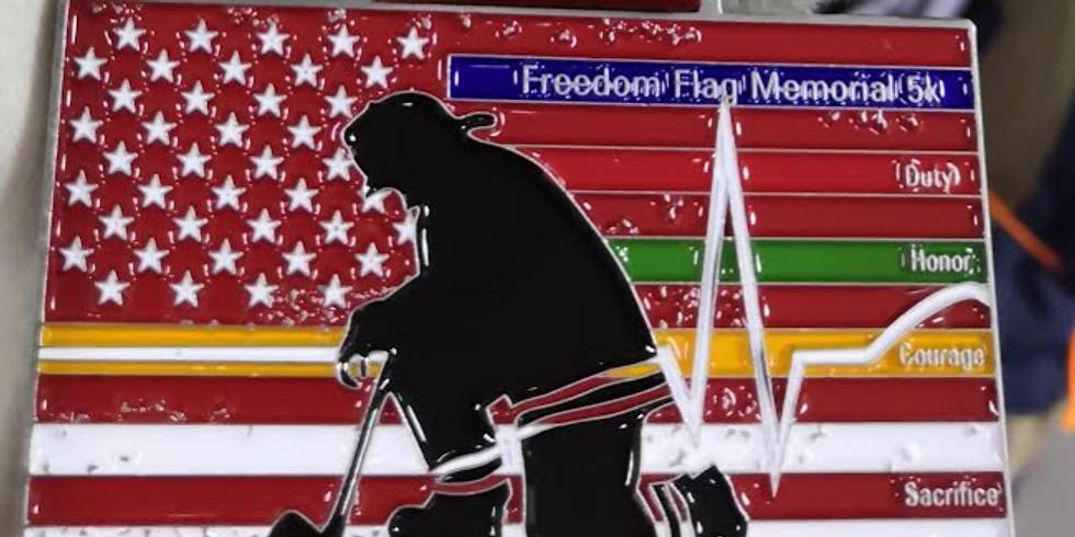 Virtual Freedom Flag Memorial 5k