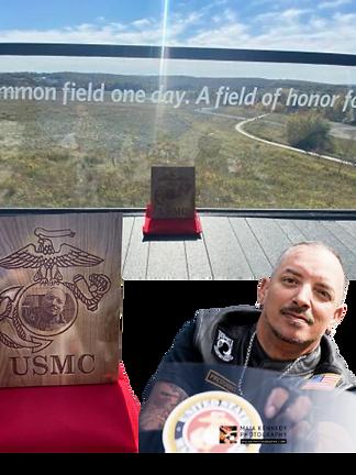 Moto Joe Leaston Marine Veteran