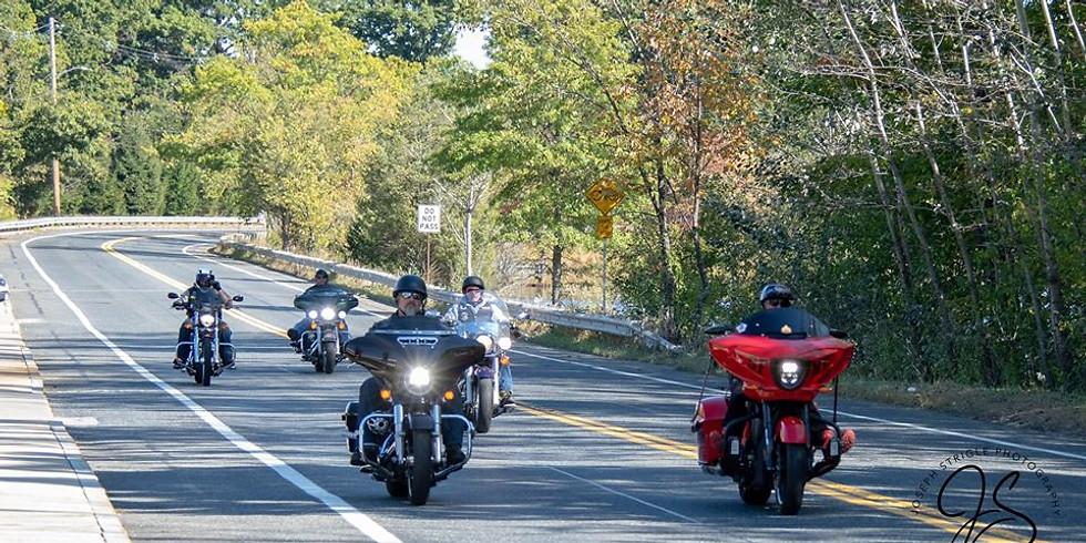 Motorcycle Stage 1 -Massachusetts 17 mile Ride