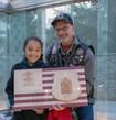 She Loves Police Sgt. Sean Gannon's Memorial Plaque