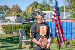 Mr.Steve Xiarhos receiving plaque of his