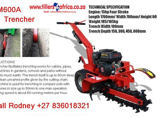 Trenchers now in stock