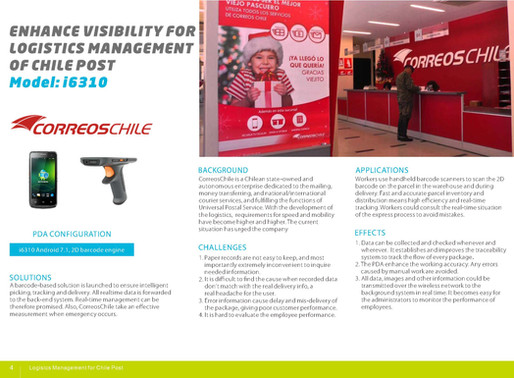 Enhance Visibility For Logistics Management Of Chile Post