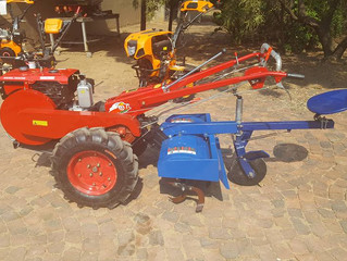 TM1515B 15hp diesel with tilling attachment and seat... R35000 for both..