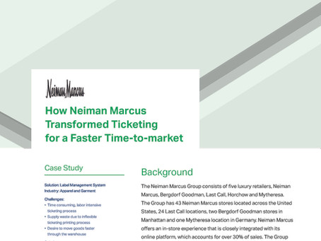 How Neiman Marcus Transformed Ticketing for a Faster Time-to-market