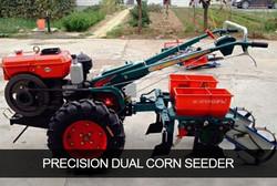 Precision Dual Corn Seeder