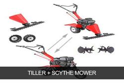 TILLER + SCYTHE MOWER