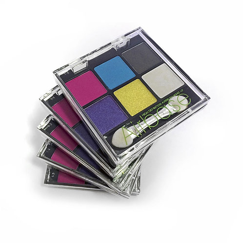 Airbase Colour Eyeshadow Pallette (6 Colours)