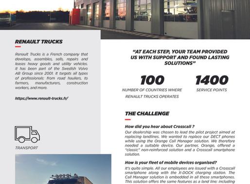 Crosscall Renault Trucks Case Study