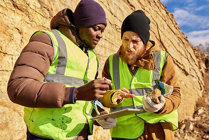 Label printers for mining
