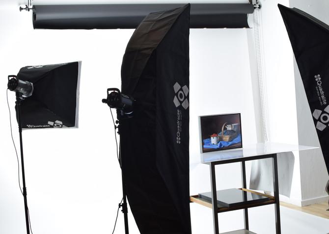 Den nya fotostudion börjar ta form!