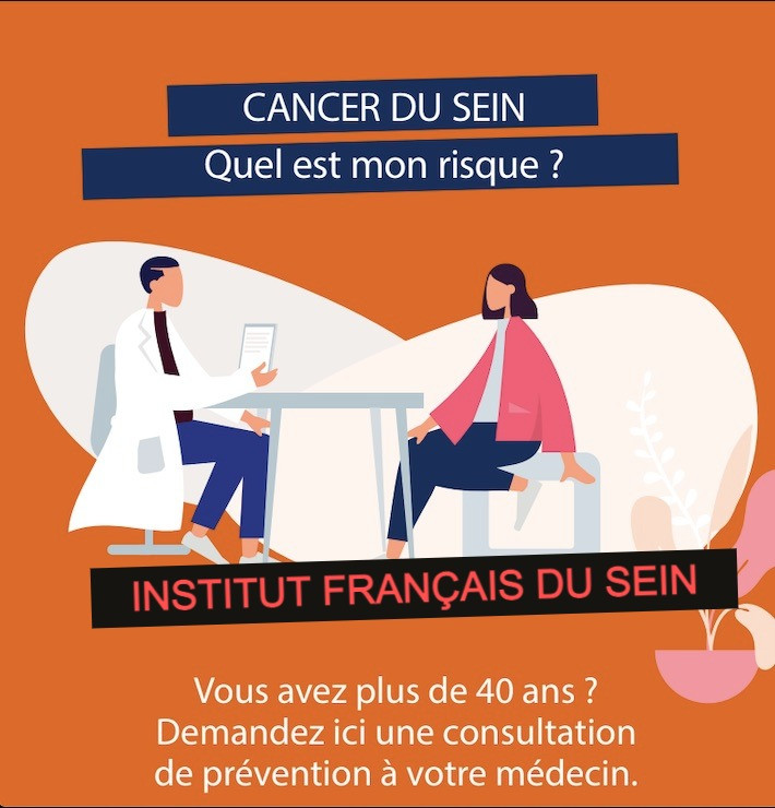 risque de cancer du sein, mammorisk à l'Institut français du sein