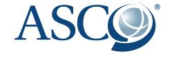 le sigle du grand congrès Américain de Cancérologie : ASCO