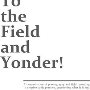 to the field and yonder